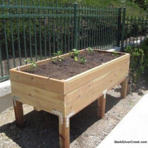 How To Make A Vegetable Garden Box