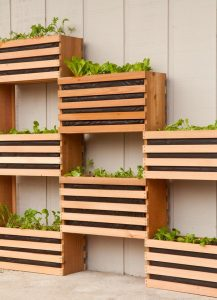 Modular Vertical Vegetable Garden